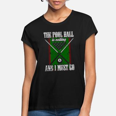Pool Pool Billiards Pool Billiards - T-shirt oversize Femme