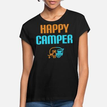 Campground Caravan camping campground - Women's Loose Fit T-Shirt