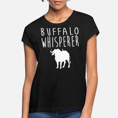 Buffalo Bills Buffalo T-skjorte - Oversize T-skjorte for kvinner