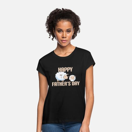Gift T-Shirts - Best Dad ever I Daddy Father Father's day Gift - Frauen Oversize T-Shirt Schwarz