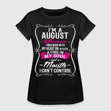 AUGUST WOMAN - Women's Oversize T-Shirt