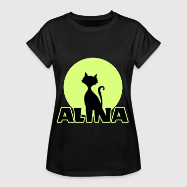Alina Name day first name personal gift - Women's Oversize T-Shirt