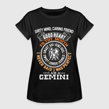 I AM A GEMINI - Women's Oversize T-Shirt