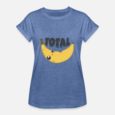 Totally Total banana - totally crazy - Women's Oversize T-Shirt