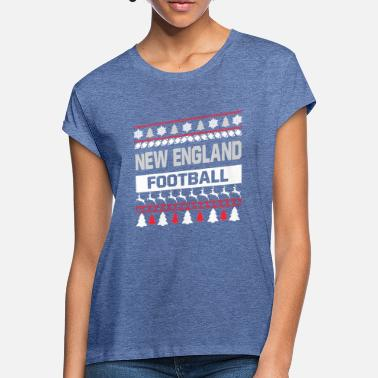 New England Ugly Sweater New England - Maglietta larga donna