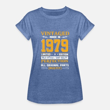 1979 Vintaged Made In 1979 Limited Editon - Women's Oversize T-Shirt