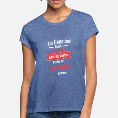 6c7591e382348c Die besten Frauen werden im september geboren! - Frauen Oversize T-Shirt