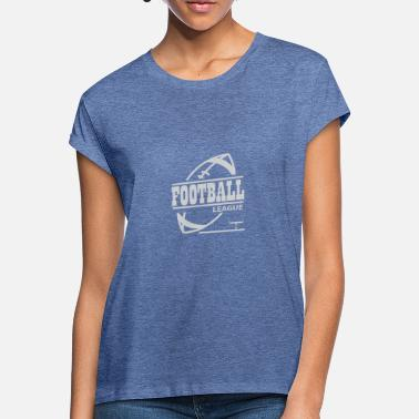 College Football Football League Football League College Équipe - T-shirt oversize Femme