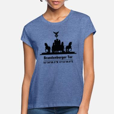 Brandenburg Gate Brandenburg Gate - Women's Loose Fit T-Shirt