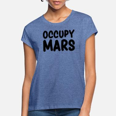 Occupy Occupy Mars - T-shirt oversize Femme