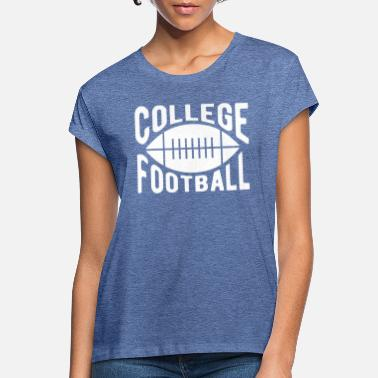 College Fodbold College fodbold - Oversize T-shirt dame