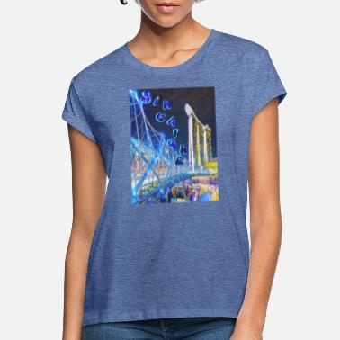 Helix HELIX BRIDGE - Vrouwen oversized T-Shirt