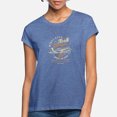 North Humberside Wings Over North Georgia - Frauen Oversize T-Shirt