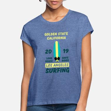 Golden State Golden State Surfing - Oversize T-shirt dame