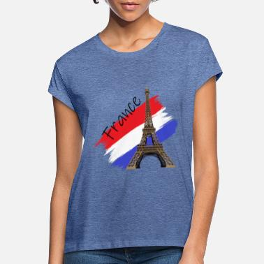 France Eiffel Tower - Women's Loose Fit T-Shirt