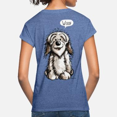 Caricature Funny Havanese - Dog - Dogs - Comic - Women's Loose Fit T-Shirt