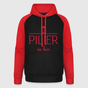 Pilier de bar - Sweat-shirt baseball unisexe