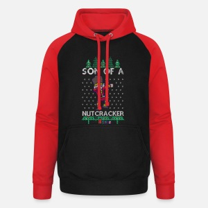 Dabbing Son Of A Nutcracker Ugly Christmas Sweater Sweat Shirt Homme