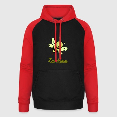 ZomBee - Sweat-shirt baseball unisexe