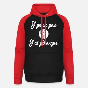 Sweat à capuche baseball unisexe