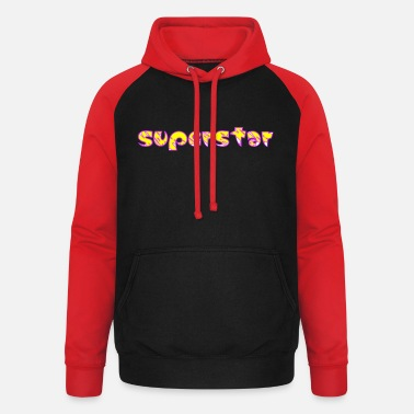Superstar Superstar! - Sweat à capuche baseball unisexe