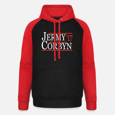 Labour Jeremy Corbyn Labour Leader - Unisex Baseball Hoodie