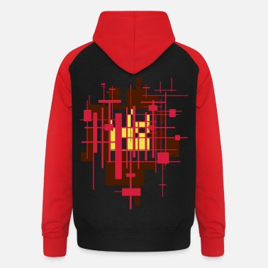 Graphic Art graphic - Unisex Baseball Hoodie