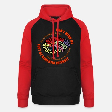 Just Be Dementia Friendly - Unisex Baseball Hoodie