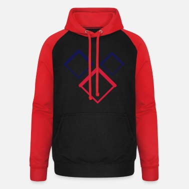 cool_design_2_colour - Unisex Baseball Hoodie