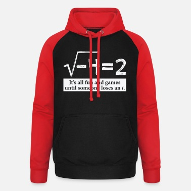 Fun Someone Loses An i Funny Math Gift for Pi day - Unisex Baseball Hoodie