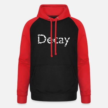 Decayed Decayed text - Unisex Baseball Hoodie