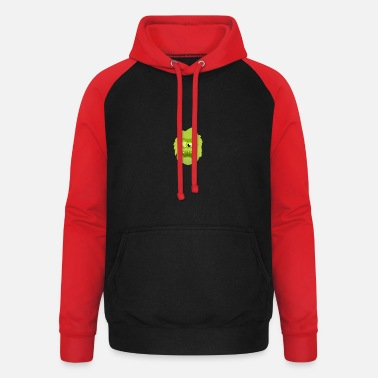 Sour monster - Unisex Baseball Hoodie