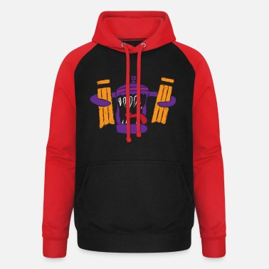 Animated BOMBOLETTA ANIMATED - Unisex baseball hoodie
