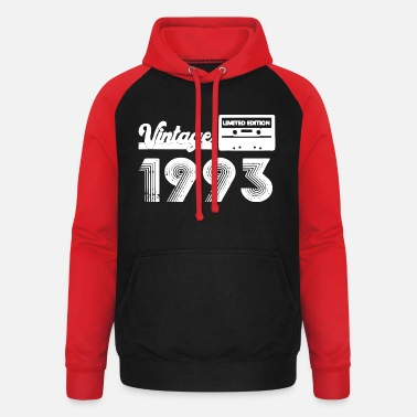 Class Reunion Vintage 1993 Limited Edition - Unisex Baseball Hoodie