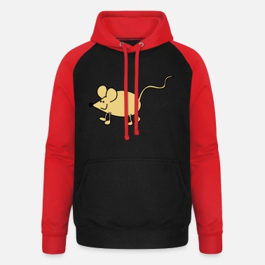 Little Mouse Little mouse - Unisex Baseball Hoodie