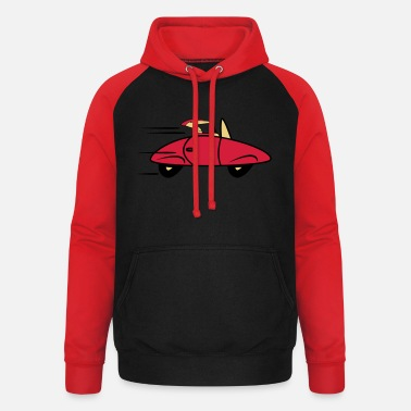 Cars Car sports cars fast cars - Unisex Baseball Hoodie