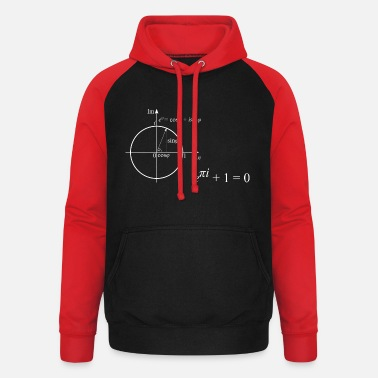 The most beautiful pattern of mathematics - Unisex Baseball Hoodie