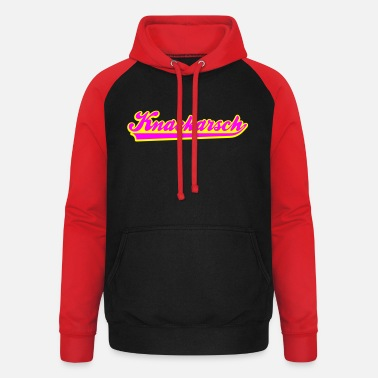 Dirty Sayings Underwear ass crack - Unisex Baseball Hoodie