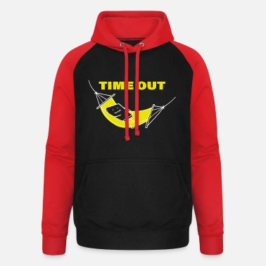 Time-out TIME-OUT - Unisex baseball hoodie