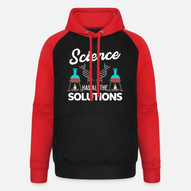 Research Science research experiment - Unisex Baseball Hoodie
