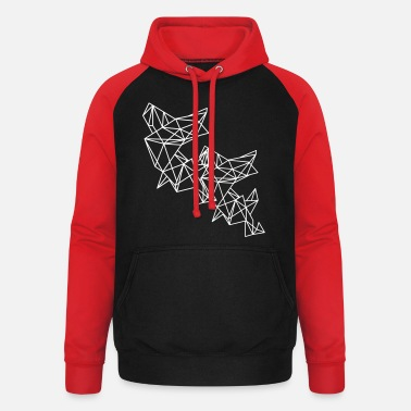 Filigree Filigree pattern - Unisex Baseball Hoodie