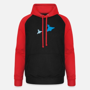 Fighter Eurofighter Typhoon - Unisex Baseball Hoodie