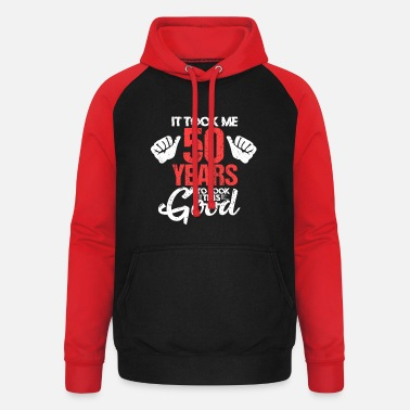 50th Birthday 50th birthday - Unisex Baseball Hoodie