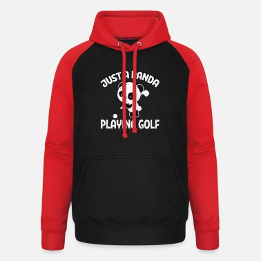 Golf Clubs Panda Golf Panda Golf Golf Club Golf Clubs - Unisex Baseball Hoodie