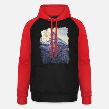 Mountains & Diamonds - Unisex Baseball Hoodie