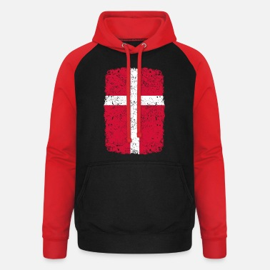Home Country roots home country roots home Denmark - Unisex Baseball Hoodie