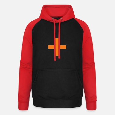 Zest For Life cross switzerland with a zest for life - Unisex Baseball Hoodie