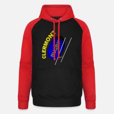 Clermont Rugby CLERMONT Rugby - Unisex Baseball Hoodie