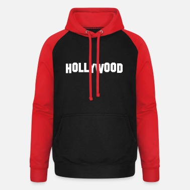 Hollywood HOLLYWOOD idea de regalo - Sudadera con capucha de béisbol unisex