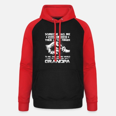 Someone Has Me Wrapped Around Their Little Finger - Unisex Baseball Hoodie